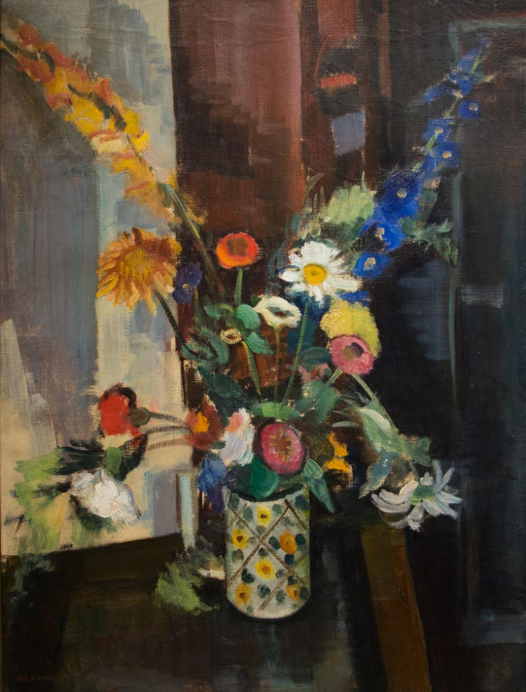 Jack Humphrey, Still Life with Flowers