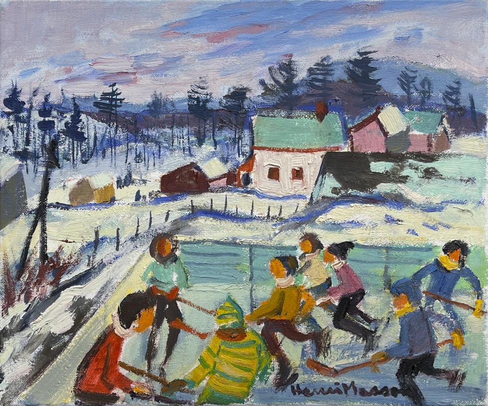 Henri L. Masson, Notre sport national, 1985
