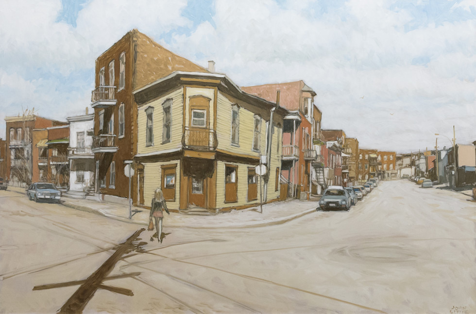 John Little, Corner Grocery at Ste. Clotilde, Bourassa and Cote St. Paul, 2010