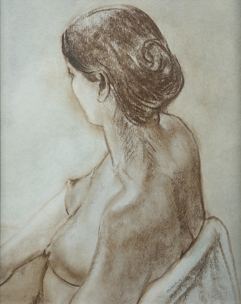Louis Muhlstock, Nude