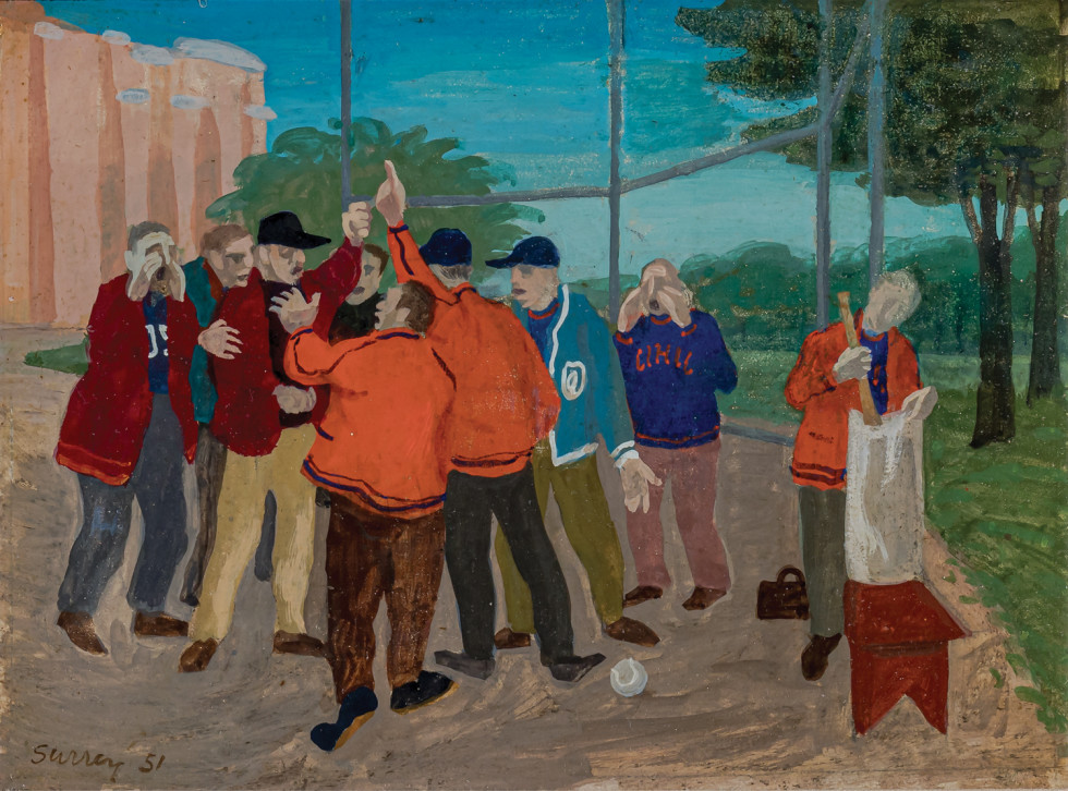 Philip Surrey, The Argument, 1951