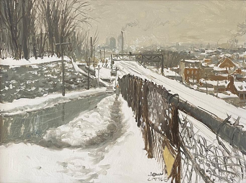 John Little, Rue Des Seigneurs, Montreal, 1967