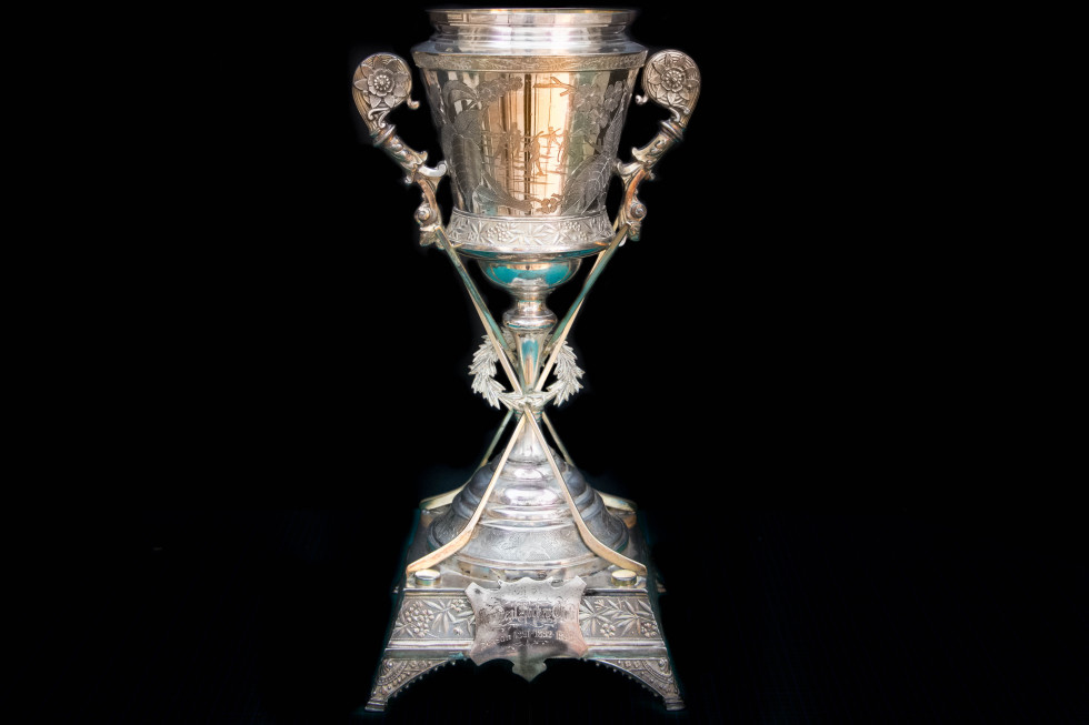 Meriden B. Silver Company The Amateur Hockey Association of Canada Championship Challenge Cup - La Coupe du Championship Challenge de l'Association de hockey amateur du Canada, 1890 Circa Other - Autre 16 x 7 1/2 x 7 1/2 in 40.6 x 19.1 x 19.1 cm