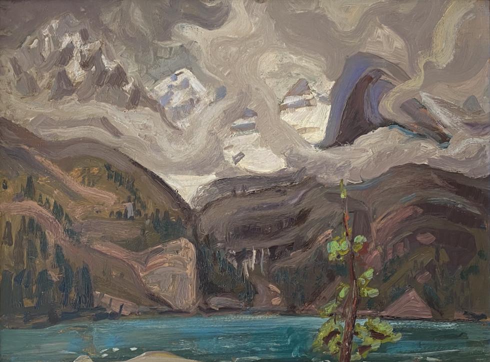 Arthur Lismer, Lake O'Hara, Canadian Rockies, 1928