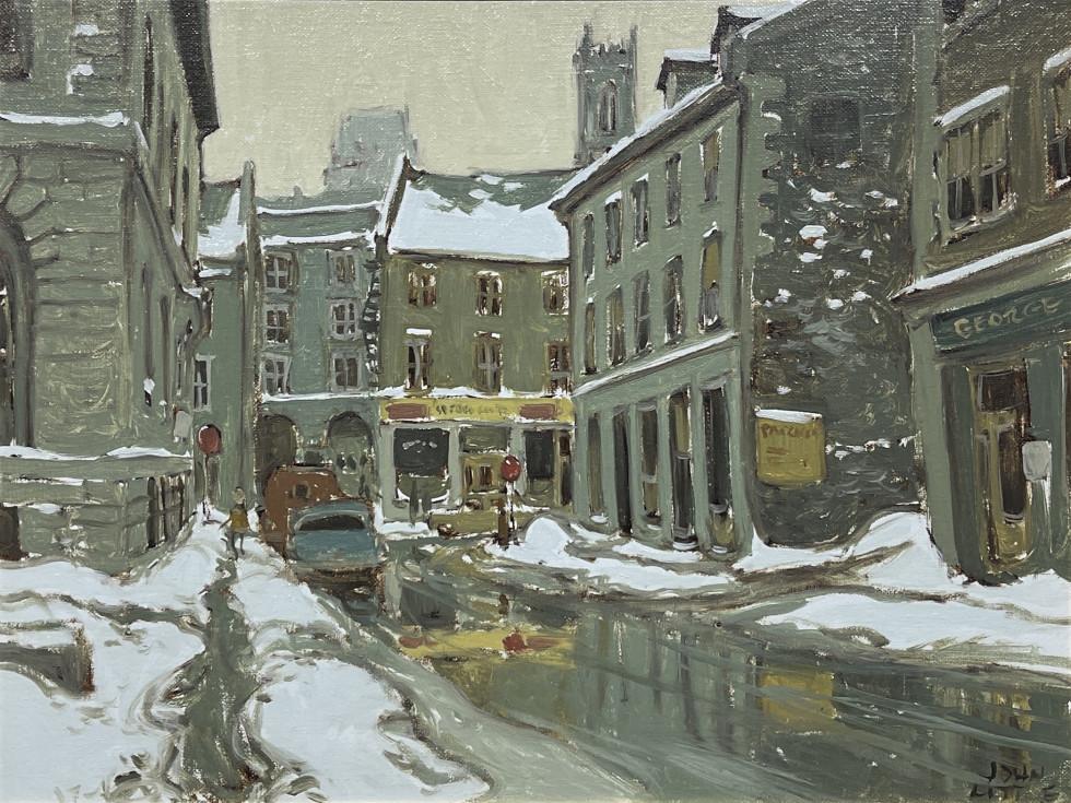 John Little, Place Royale, Rue St. Paul, Montreal, 1965
