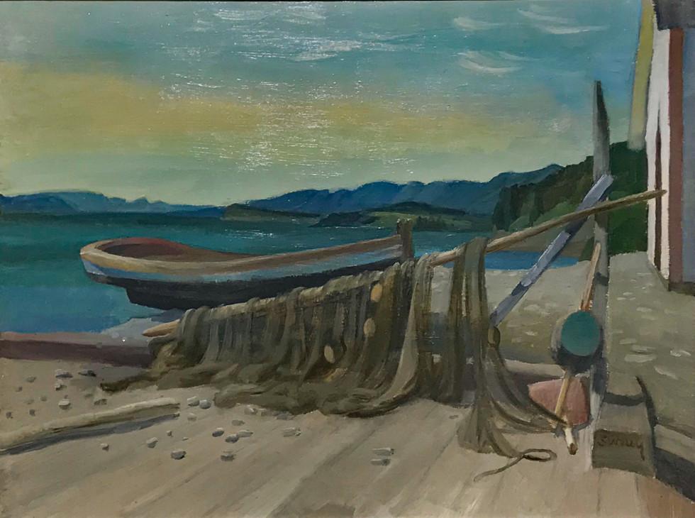 Philip Surrey, C.M., LL.D., R.C.A., Grand Grève, Gaspé, 1959