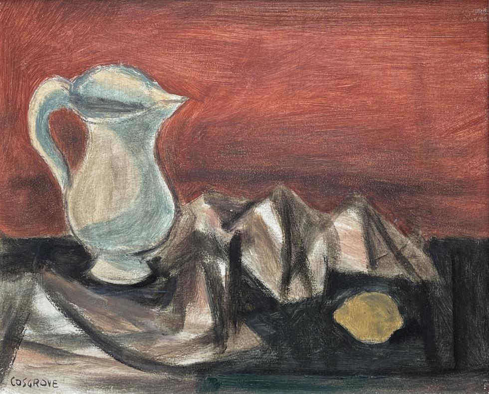 Stanley M. Cosgrove, Pichet et citron, 1950 (circa)