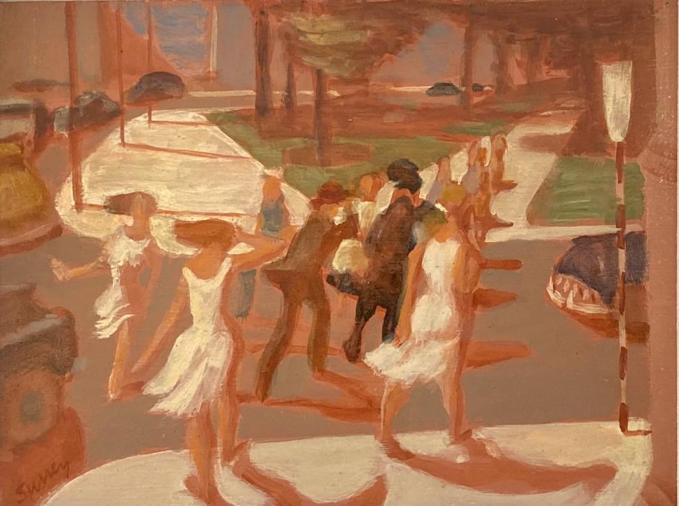Philip Surrey, C.M., LL.D., R.C.A., Pedestrians