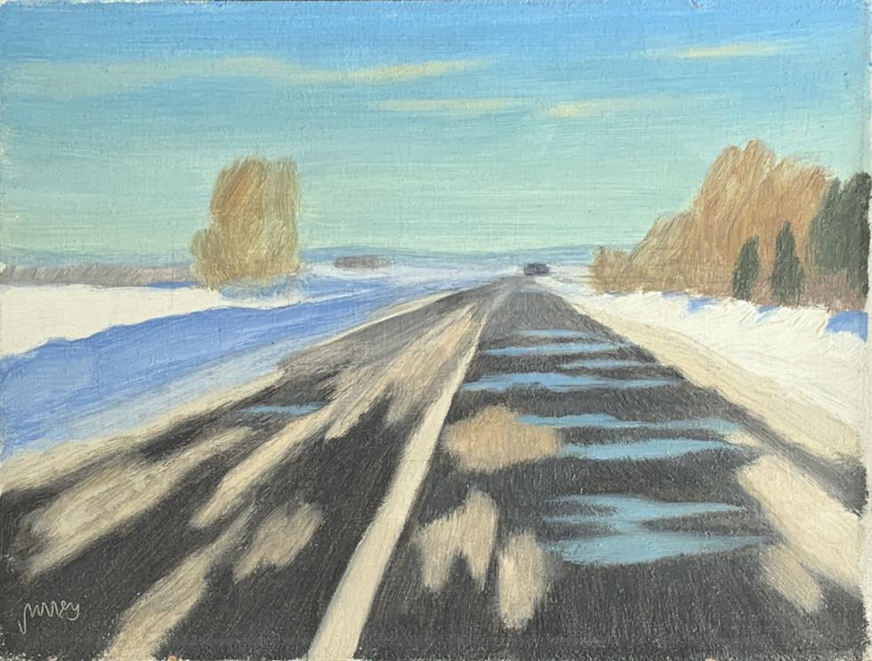 Philip Surrey, C.M., LL.D., R.C.A., Road to St-Rémi