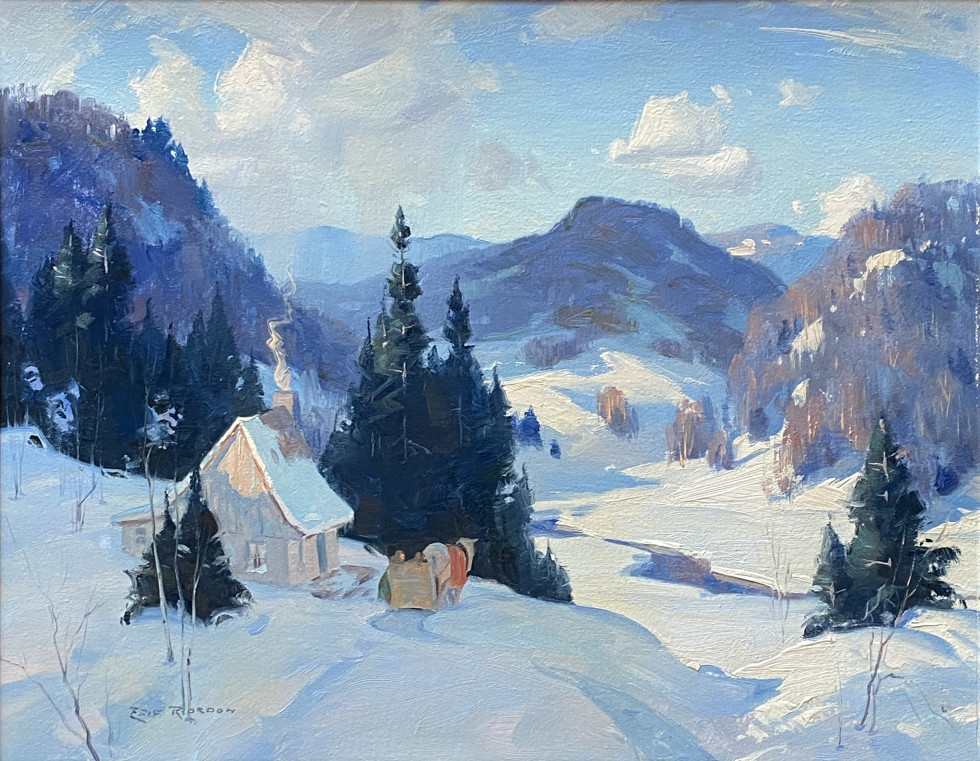 Eric Riordon, March Snow Flurries