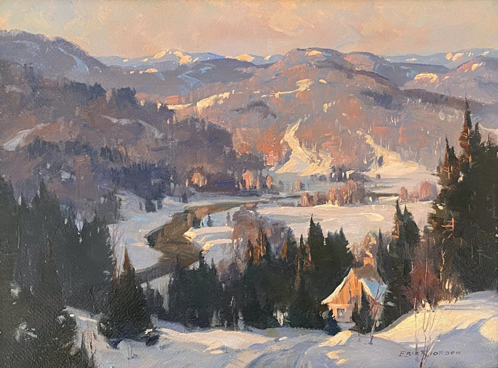 Eric Riordon, The Mulet Valley at Evening