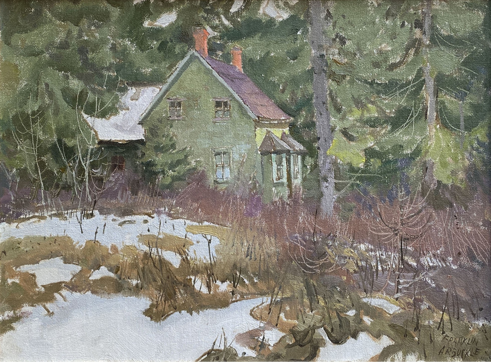 Franklin Arbuckle, Vankoughnet, Ontario, 1983 (March 28)