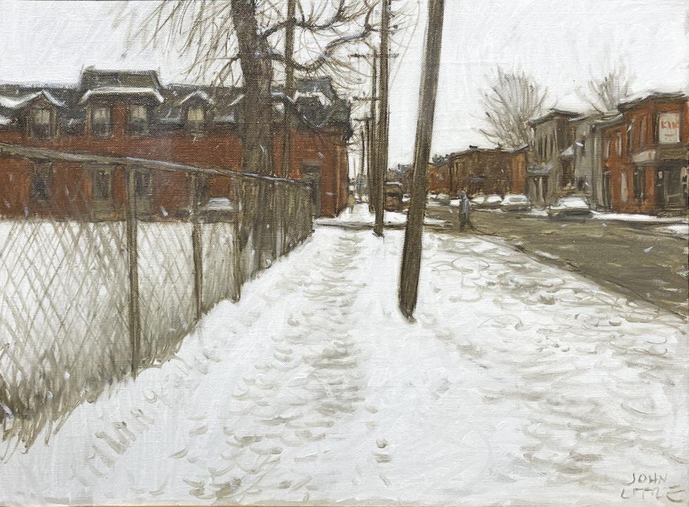 John Little, Richmond Street Vers Grand Trunk, Pointe St. Charles, Montreal, 1977