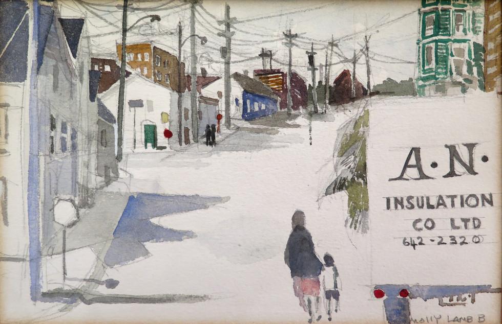 Molly Lamb Bobak, C.M., O.N.B., R.C.A., Off Clarendon Ave, Saint John
