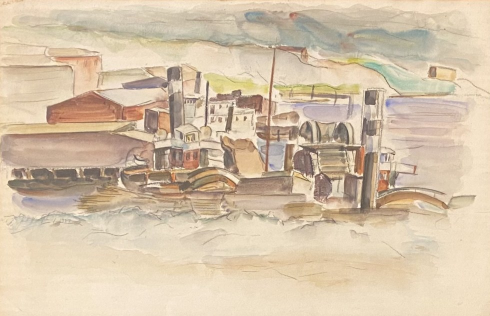 Jack Humphrey, Boats and Dredges, Saint John, N.B., 1937