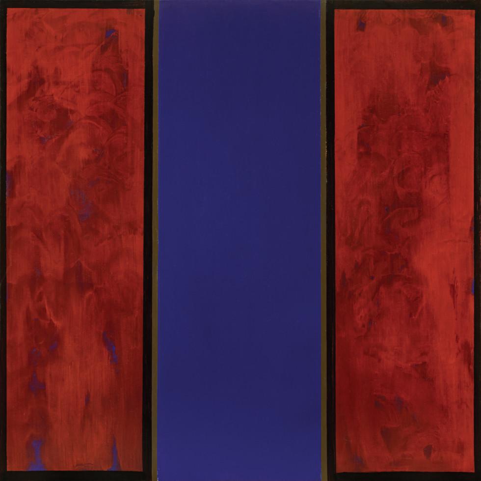 Jean McEwen, A noir, corset velu des mouches éclatantes (Rimbaud), 1969 (circa)