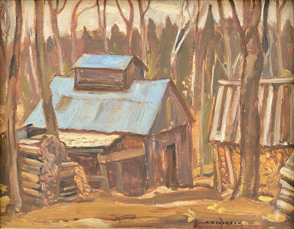 A.Y. Jackson, Sugar Shanty, L'Islet, 1944
