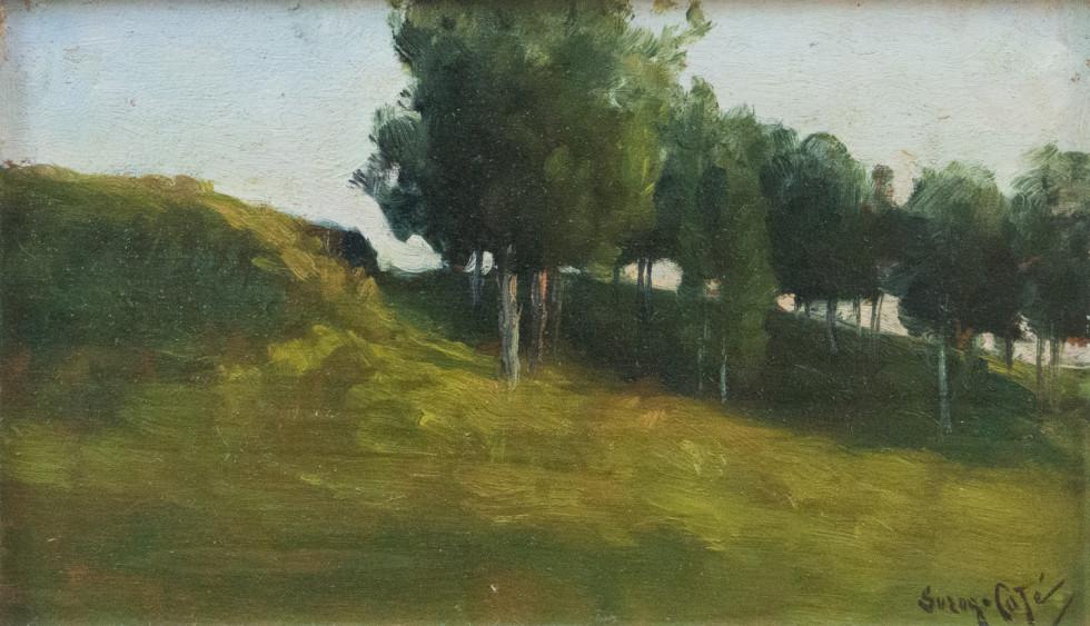 Marc-Aurèle Suzor-Coté, R.C.A., Paysage (Landscape), 1895