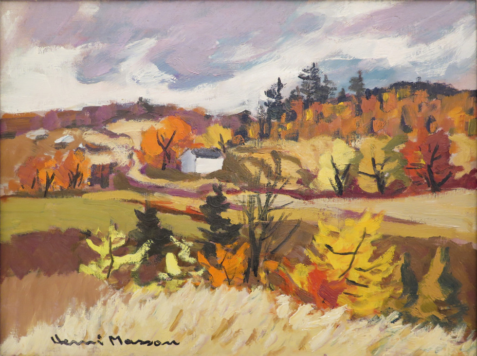 Henri L. Masson, Autumn, Cantley, Quebec, 1978