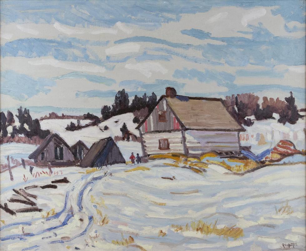 Randolph S. Hewton, R.C.A., Winter, Charlevoix County, 1932 (circa)