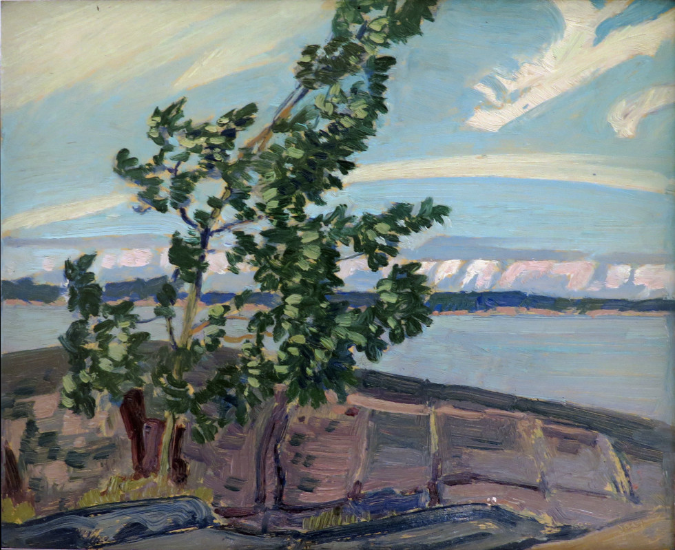 J.E.H. MacDonald, R.C.A., O.S.A., Poplar Point, Sturgeon Bay, 1931 (September 2)