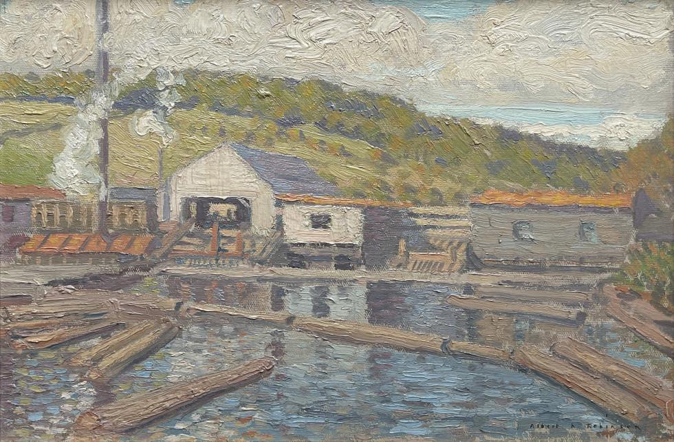 Albert H. Robinson, Mill at Baie St Paul, 1912 (circa)