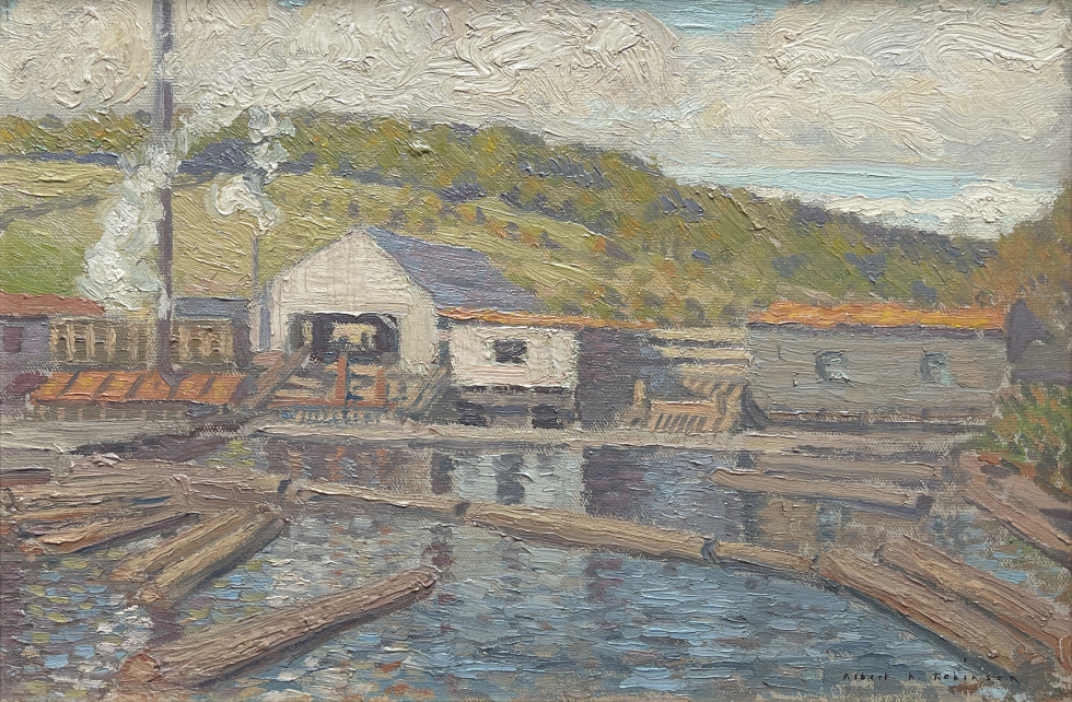 Albert H. Robinson, Mill at St. Jovite, 1907 (circa)