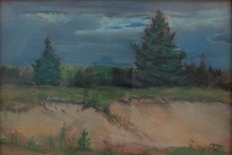 Franklin Brownell, Untitled (At the edge of the forest)
