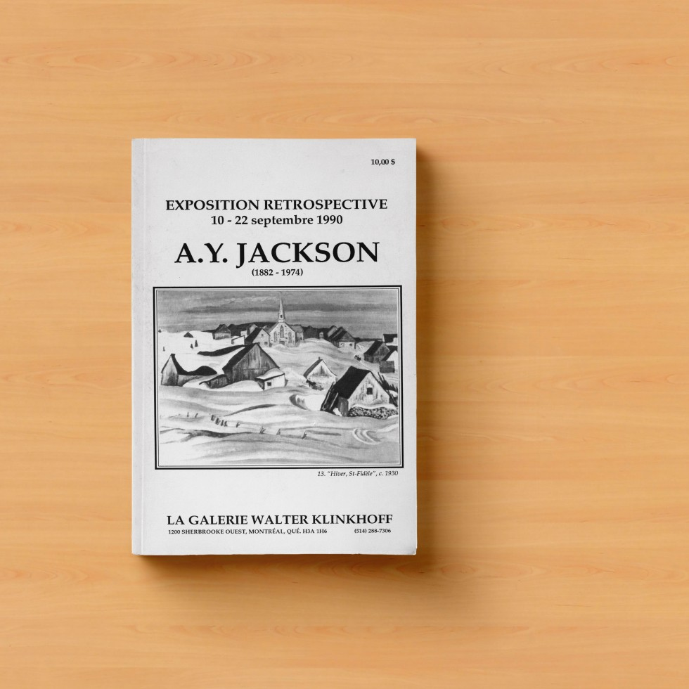 AY Jackson Exhibition Catalog Cover