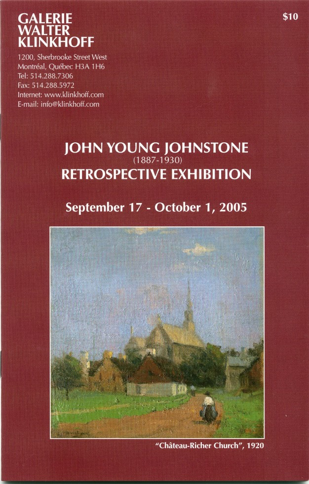 John Young Johnstone (1887-1930) Retrospective Exhibition