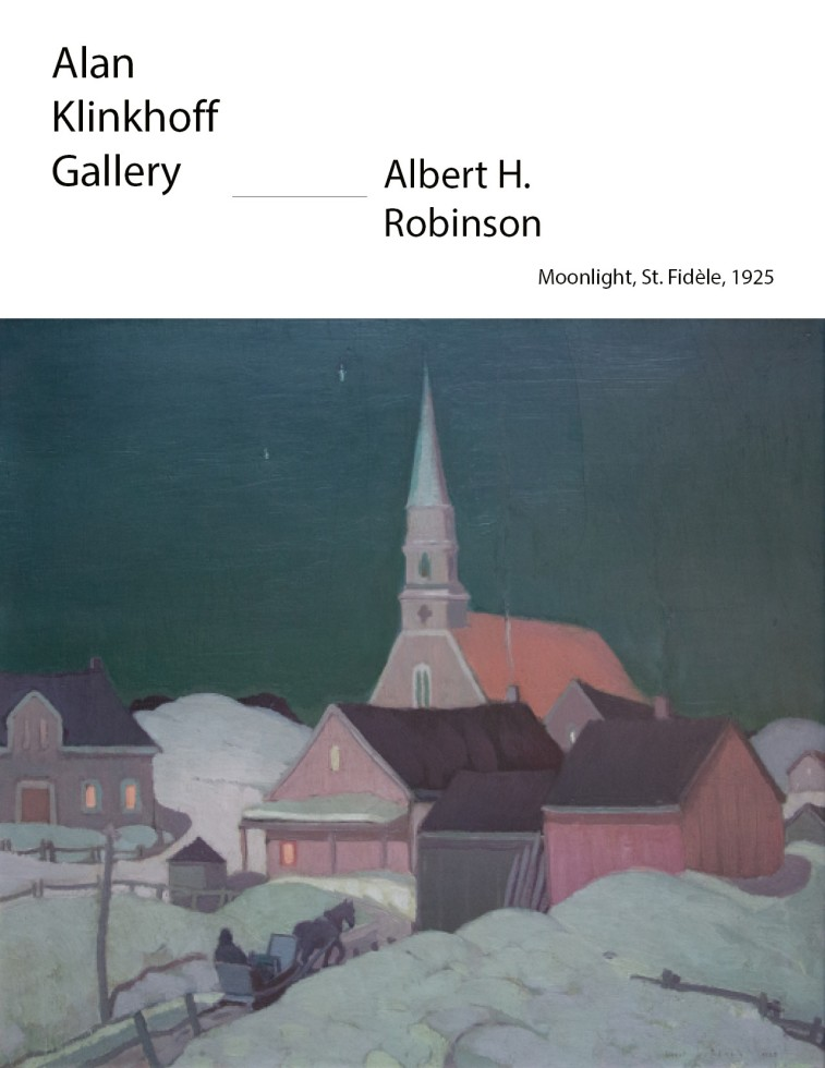 "Albert H. Robinson: ""The Painter's Painter"""