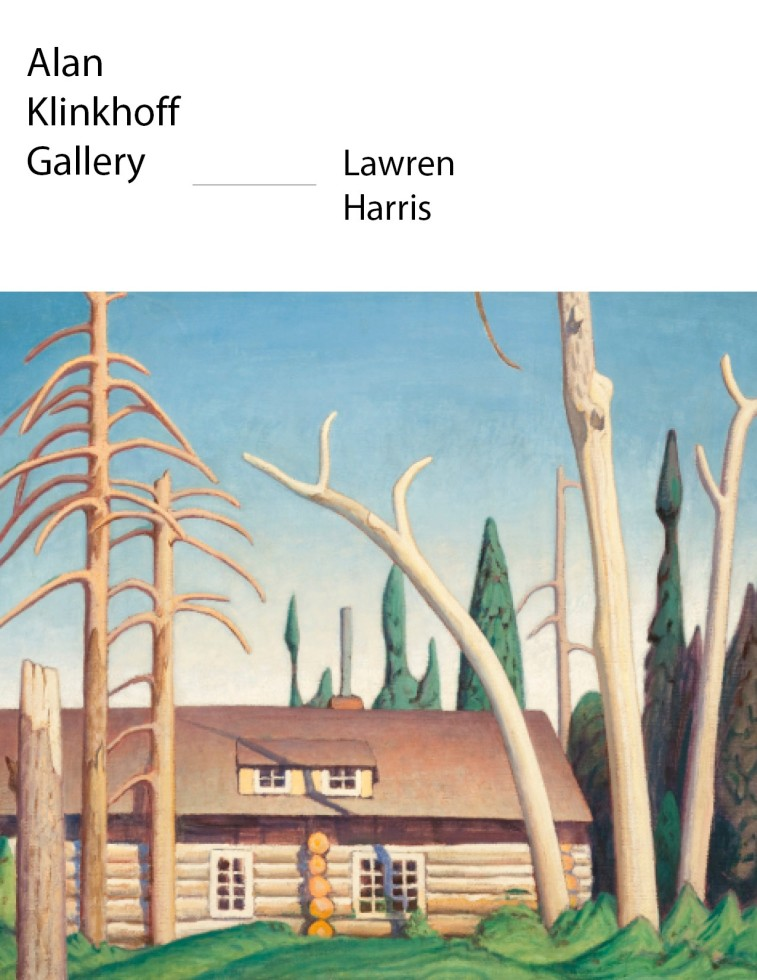 "Lawren Harris, ""Log Cabin"", 1925 (circa)"
