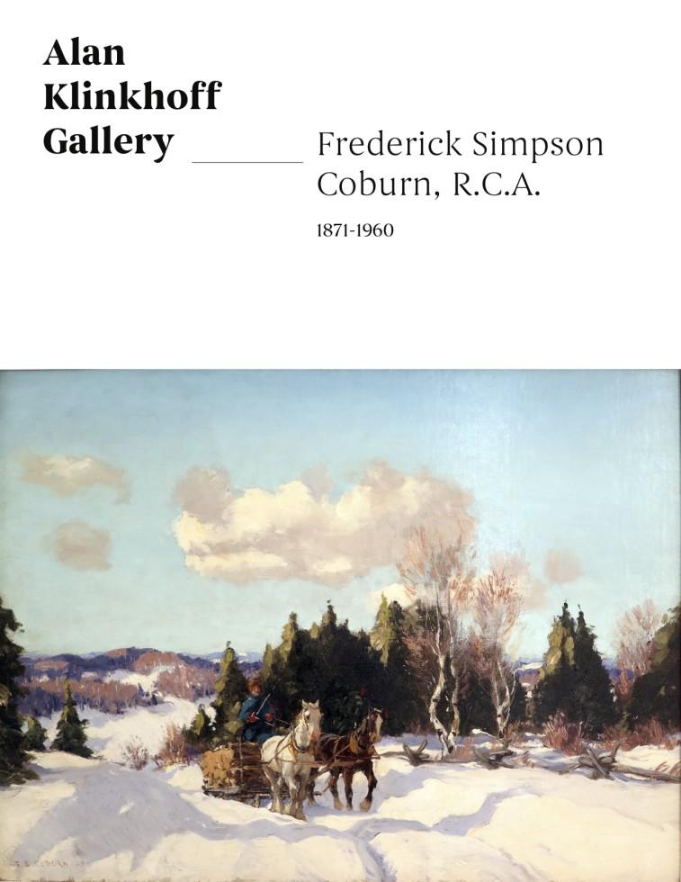 Frederick Simpson Coburn, R.C.A., 1871-1960